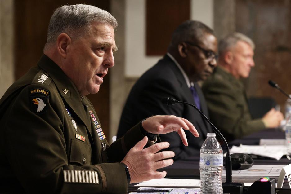 Topgeneraals spreken Biden tegen over Afghanistan
