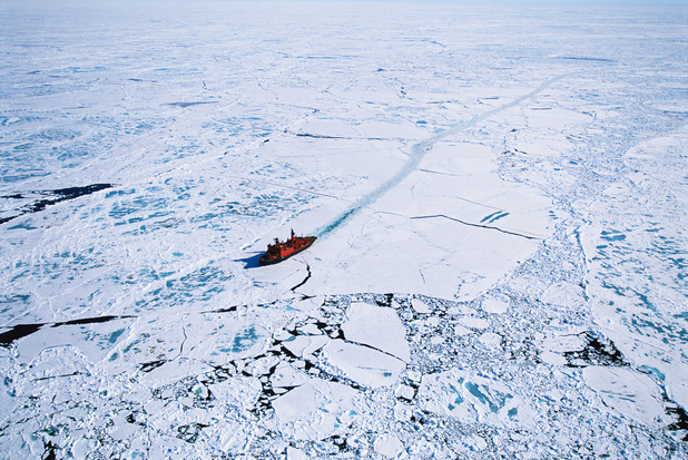 Fonte des glaces en Arctique : nouvel enjeu géopolitique