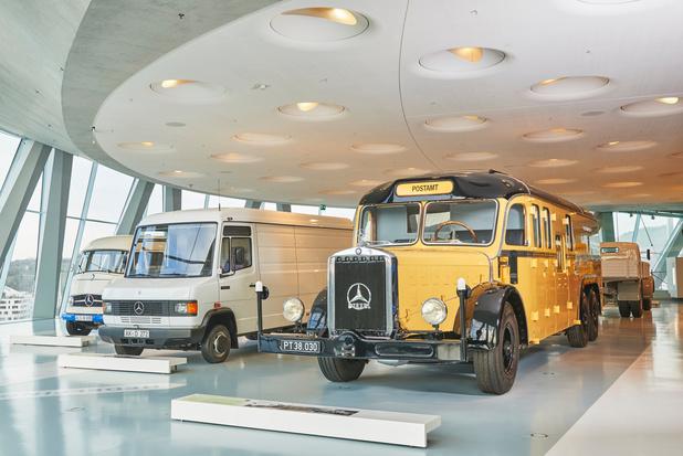 Les autobus Mercedes, du monocylindre au moteur électrique