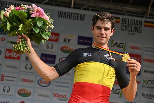 Cyclisme: Wout van Aert est le nouveau champion de Belgique