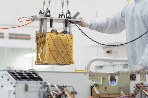 Marsrover Perseverance produceerde zuurstof