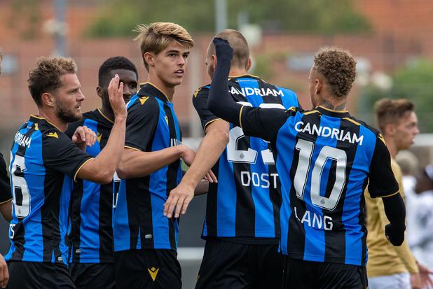 Belgische Supercup: Club Brugge en KRC Genk met experimentele ploeg aan aftrap