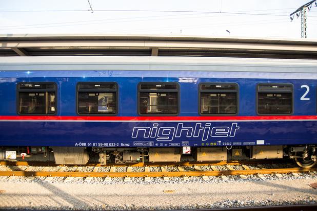 Nachttrein naar Wenen zal vaker vertrekken