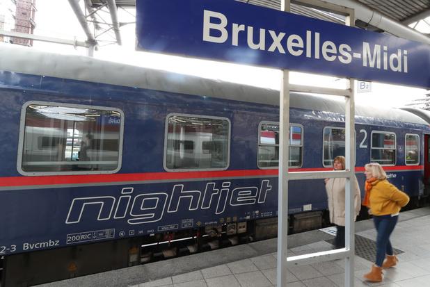 Bruxelles et Vienne reliées par un nouveau train de nuit