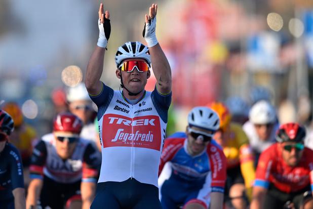 Mads Pedersen gagne au sprint la 73e édition de Kuurne-Bruxelles-Kuurne