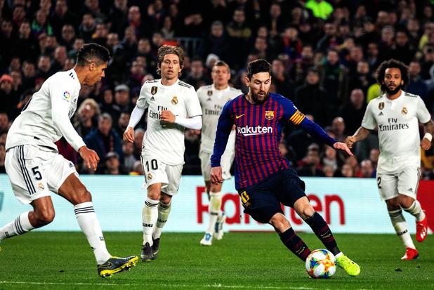 La Liga demande à jouer le prochain Clasico à Madrid et non à Barcelone
