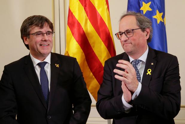 """""""Du 1er octobre 2017 à la république"""" catalane indépendante, """"je m'y engage"""""""