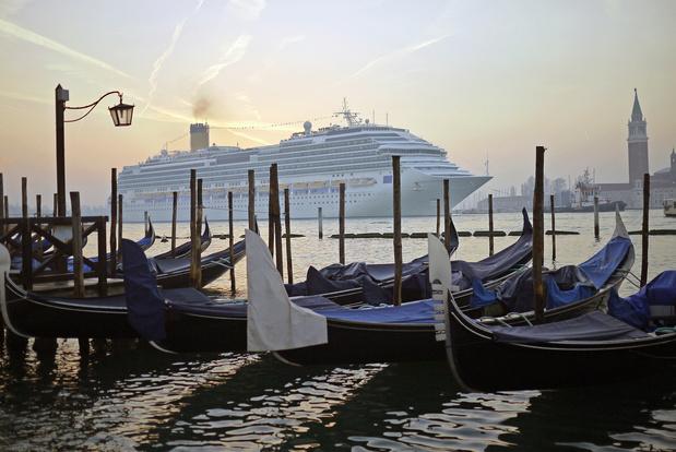 Grote cruiseschepen zijn niet langer welkom in Venetië