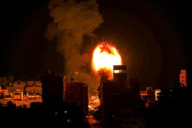 Nouvelle nuit de pilonnage de Gaza par Israël, environ 200 morts en une semaine