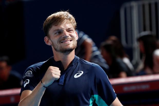 Shanghai: David Goffin se qualifie et défiera Federer