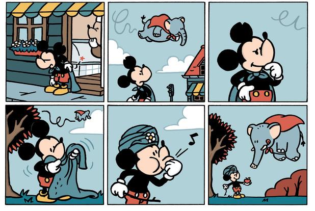 Tekenaar van Boerke gaat aan de slag met Mickey Mouse: 'Van Disney mocht hij geen loser zijn'