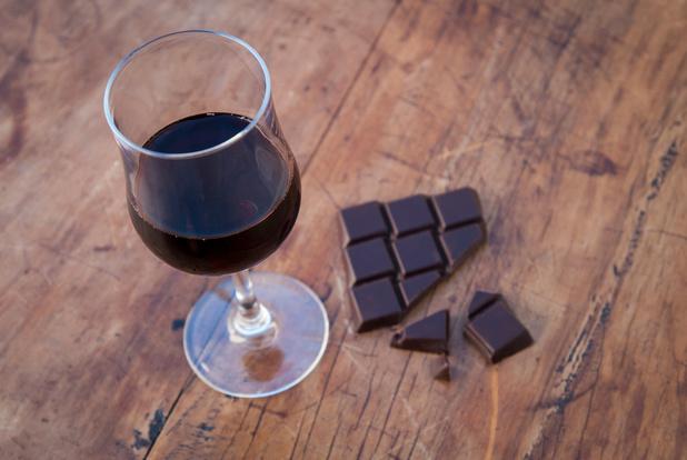 Wijn en chocolade, een goed koppel