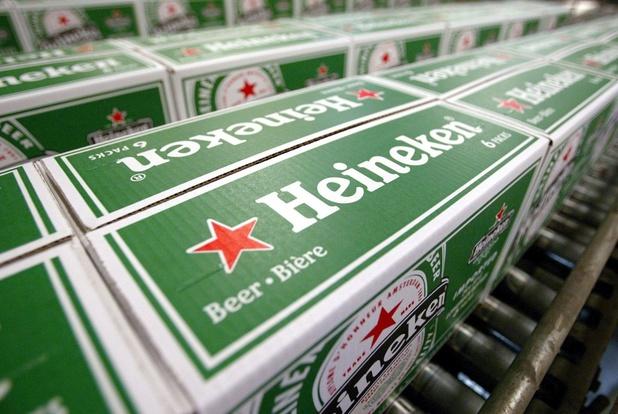 Heineken annonce un bénéfice net en hausse de 4,3% à 1,67 milliard d'euros
