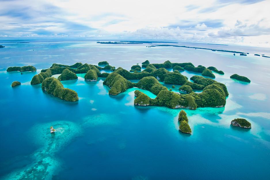 Deze paradijselijke eilanden dreigen onder zeeniveau te verdwijnen