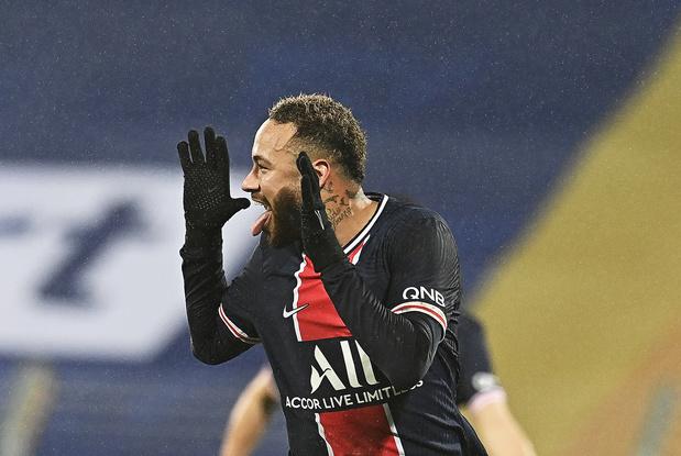 Neymar, un retour en fanfare