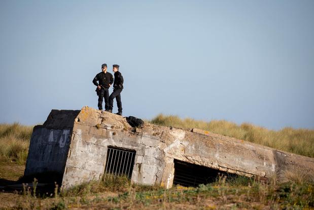 Les bunkers de la Deuxième Guerre mondiale attirent environ 10.000 personnes à la côte