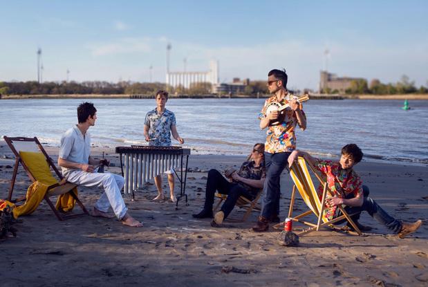 De multiculturele nieuwe plaat van Compro Oro: 'Dit is de sound van de Brugse Poort'
