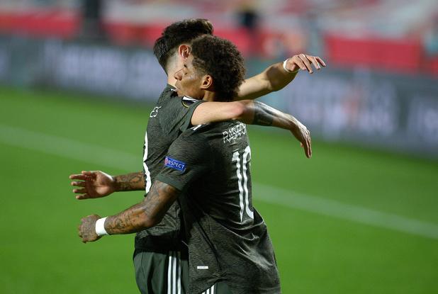 Europa League: victoire pour Manchester United, la Roma fait plier l'Ajax, Arsenal tenu en échec
