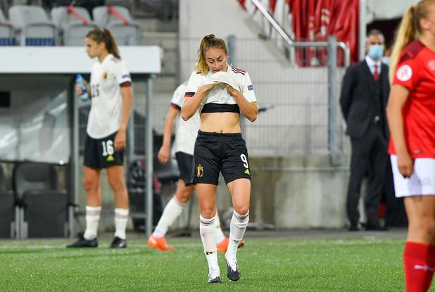 """Tessa Wullaert après la défaite en Suisse: """"Cela fait mal"""""""