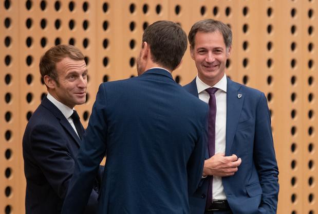 """Alexander De Croo: """"L'Europe est trop souvent réactive par rapport aux événements"""""""
