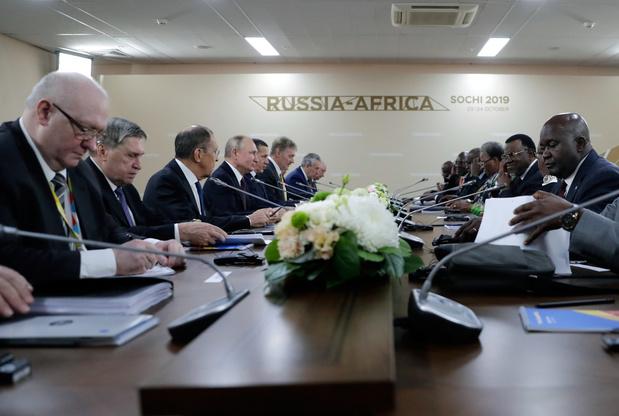La Russie veut doubler ses échanges avec l'Afrique en cinq ans
