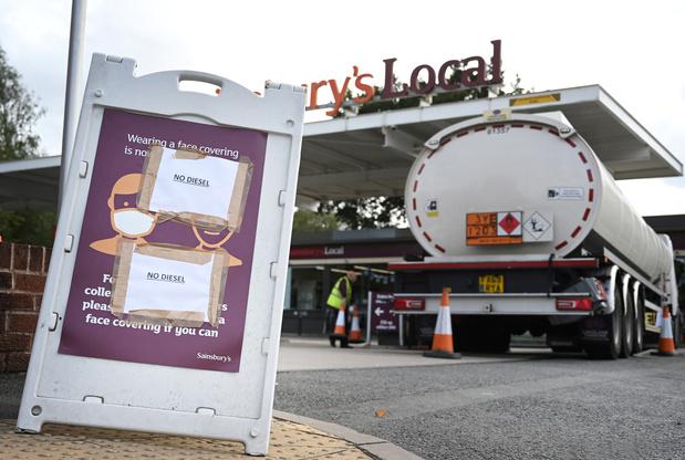 Royaume-Uni: des militaires déployés à Londres et dans le Sud-Est face aux pénuries d'essence