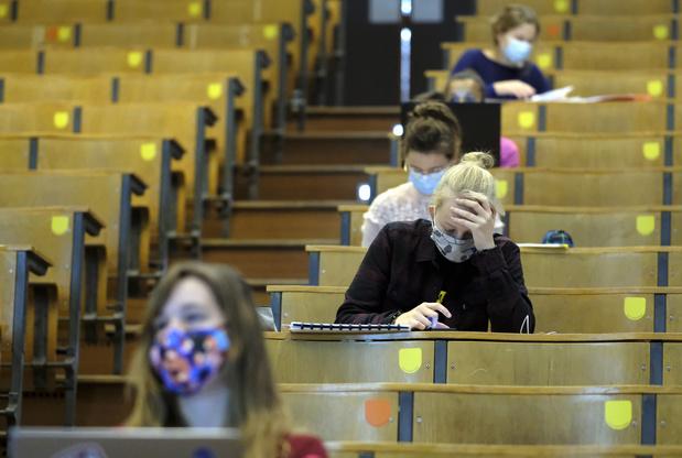 Covid en Belgique: la bulle pour les étudiants koteurs pas encore d'actualité