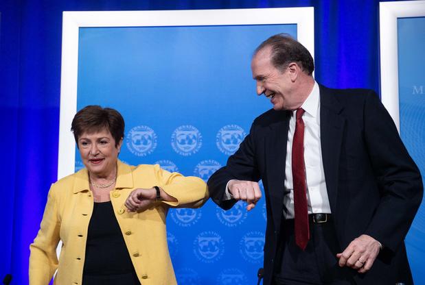 Le FMI se dit en capacité de mobiliser 1.000 milliards de dollars de financement