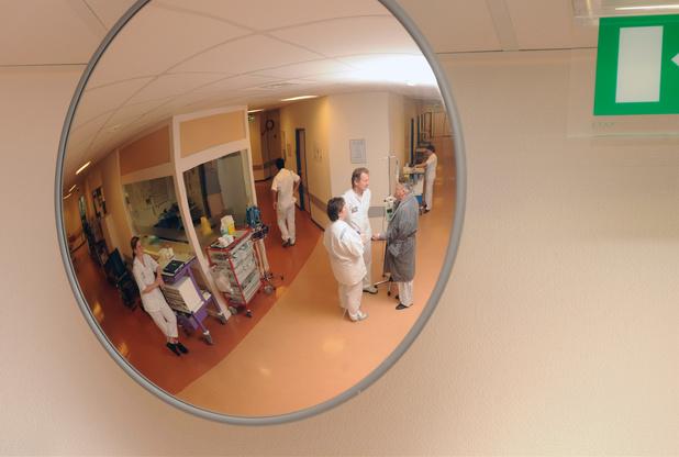 De ziekenhuizen gewogen door patiënten