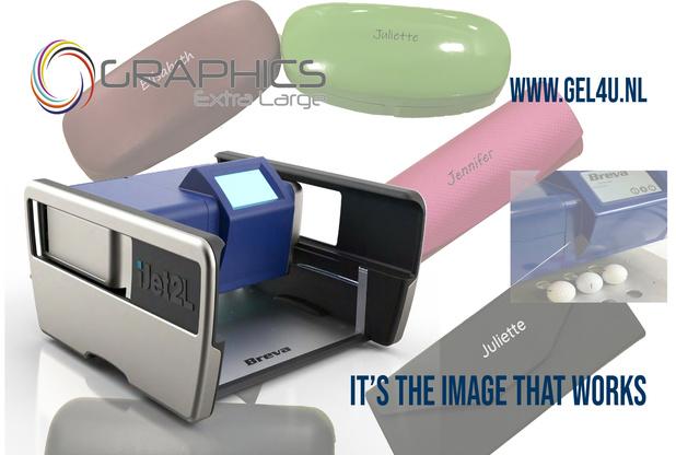 Nieuw bij Graphics Extra Large, de kleinste meest compacte object printer