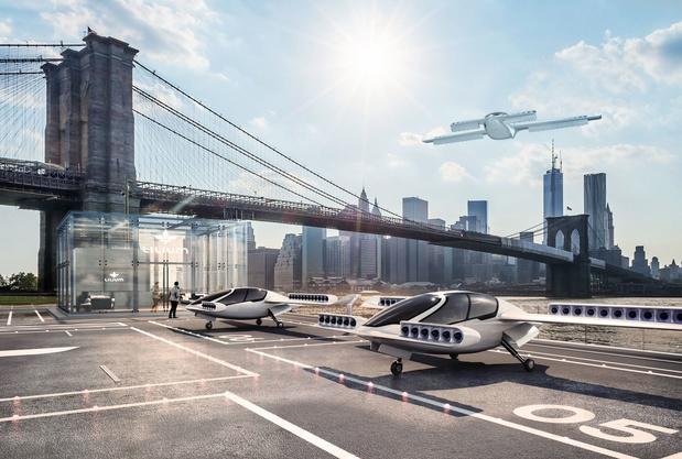 Une jeune firme de taxis volants fait l'objet d'un important investissement