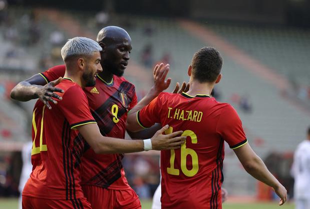 La Belgique, brouillonne en seconde mi-temps, concède le partage contre la Grèce