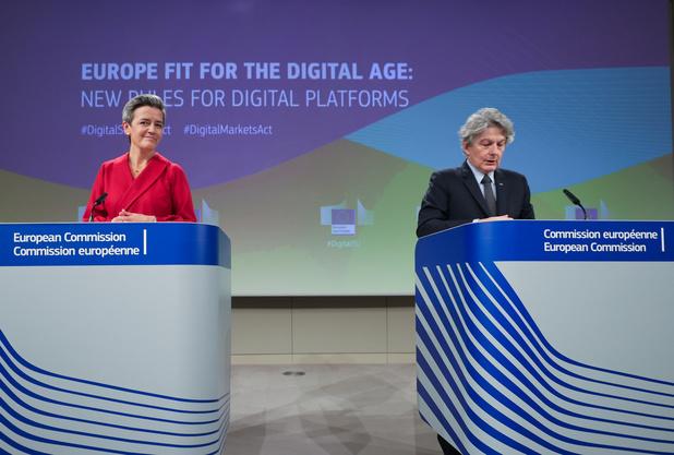 La Commission européenne dévoile son plan pour dompter les géants du numérique