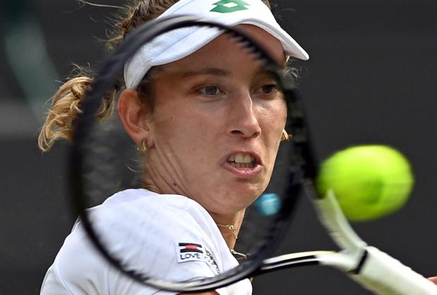 Elise Mertens uitgeschakeld op Wimbledon