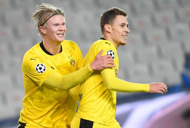 Le Club Bruges assommé par les Belges de Dortmund et Haaland