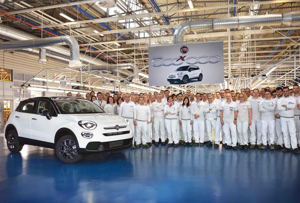 Productieteller van Fiat 500X staat op half miljoen