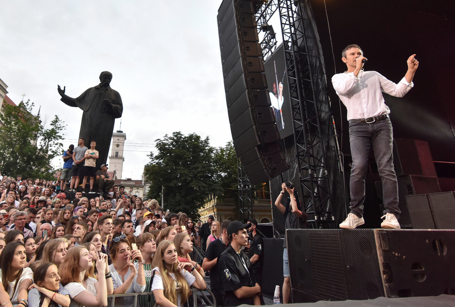 Cruciale verkiezingen in Oekraïne: heeft de komiek een rockster nodig om te regeren?