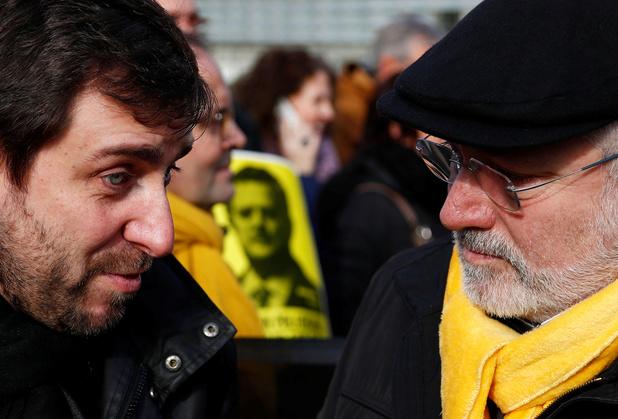 Les indépendantistes catalans LLuis Puig et Toni Comin ont été libérés sous conditions