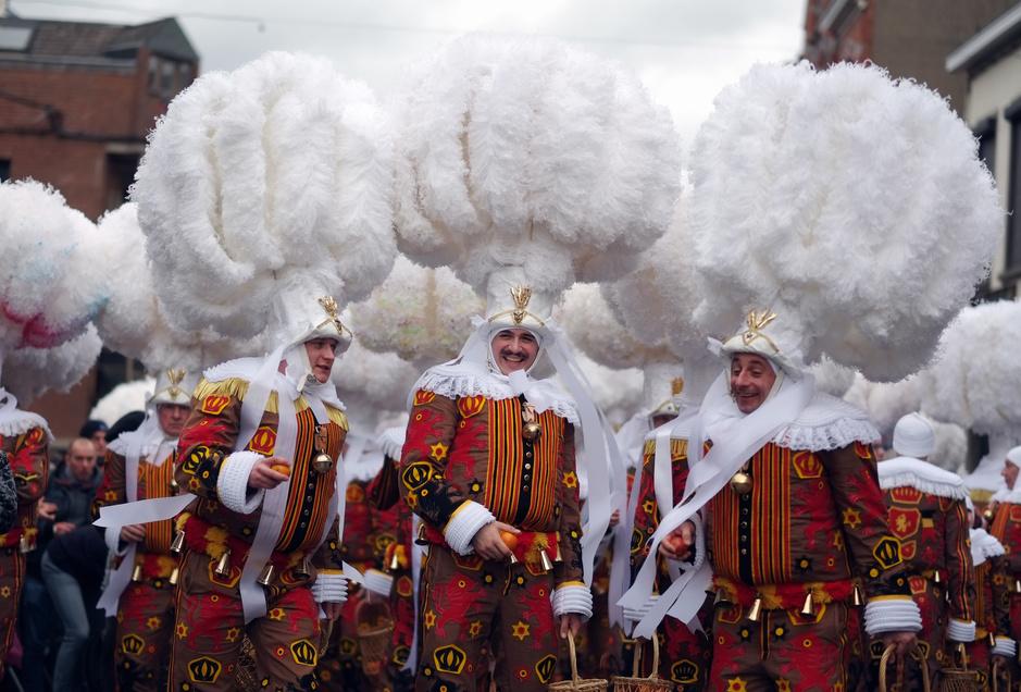 En images: les temps forts du Carnaval de Binche 2020