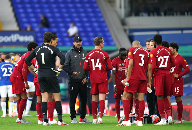Liverpool accroché dans le derby de la Mersey
