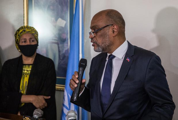 """Le Premier ministre haïtien promet des élections """"le plus rapidement possible"""""""
