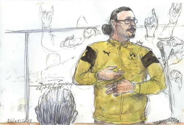 Jawad Bendaoud condamné en appel à quatre ans de prison