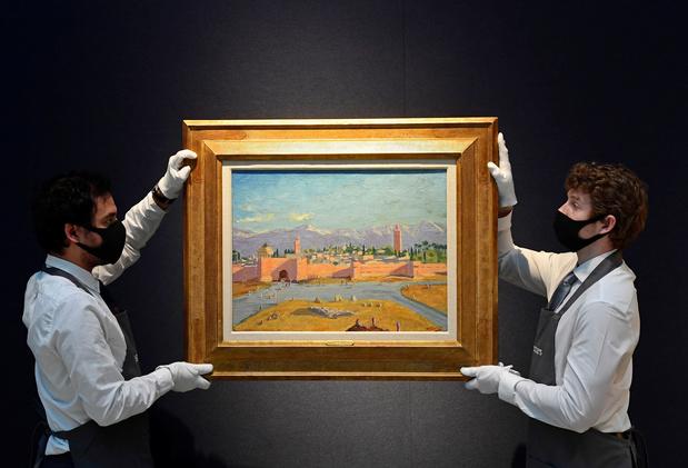 Schilderij van Churchill haalt bijna 10 miljoen euro