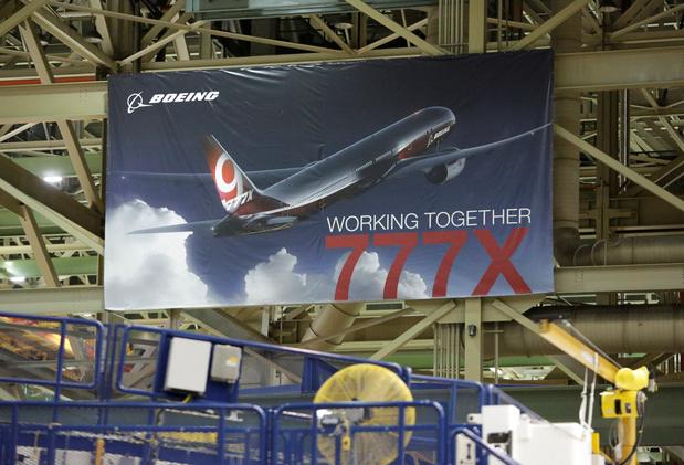 Boeing: le vol inaugural du nouveau long courrier 777X prévu jeudi