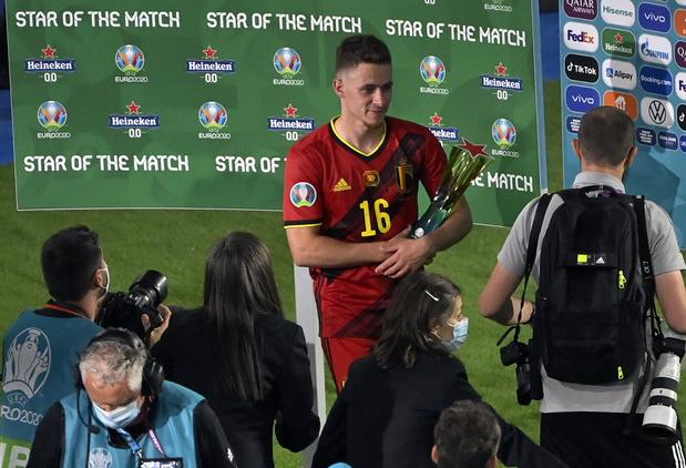 """EURO 2021 - Thorgan Hazard unique buteur contre le Portugal: """"Le plus important de ma carrière"""""""