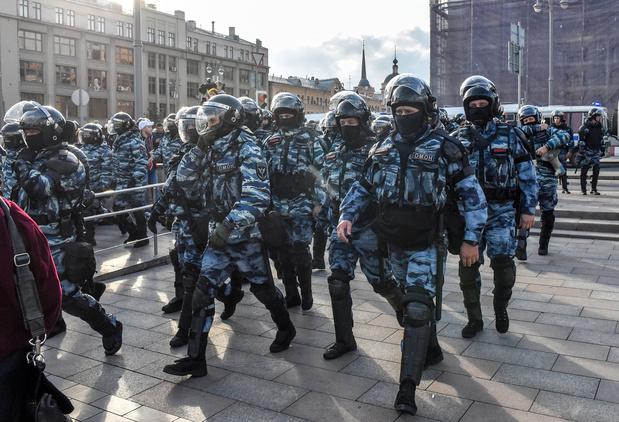 La Russie met en garde Google à propos de vidéos de protestations anti-gouvernementales