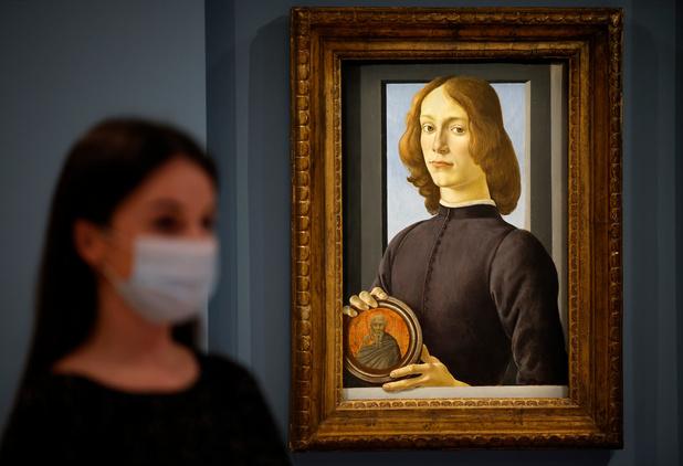 Un rare Botticelli vendu 92,2 millions de dollars aux enchères