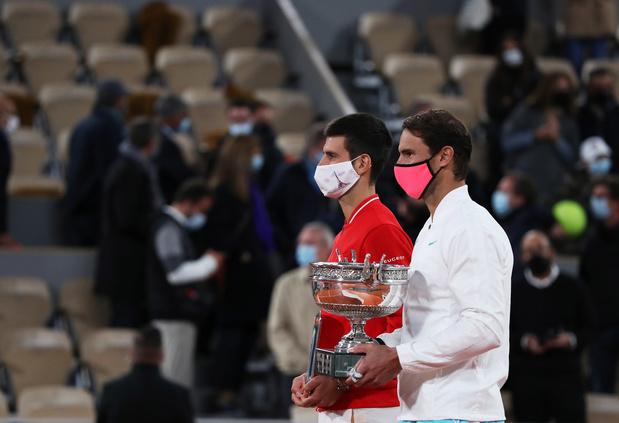 Tennis: 2021, l'année où Djokovic et Nadal peuvent dépasser Federer