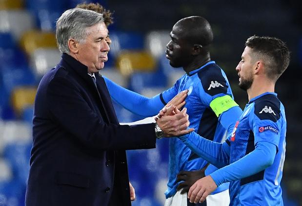 Carlo Ancelotti n'est plus l'entraîneur de Naples