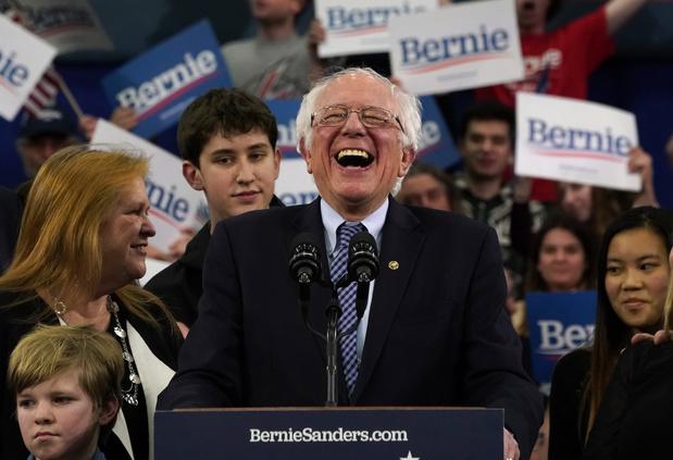 Sanders wint voorverkiezing New Hampshire, Klobuchar verrassend derde